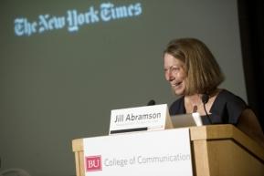 Jill Abramson on narratives, multimedia (1/2)