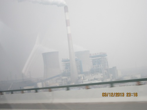 Power plant in Xi'an, China.
