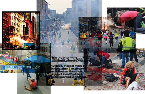 Photo montage by New York magazine (including photo by BU student journalism Kenshin Okubo).