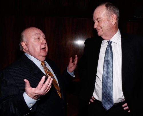 "Fun fact: Ailes is quoted as calling Bill O'Reilly ""a book salesman with a TV show."""