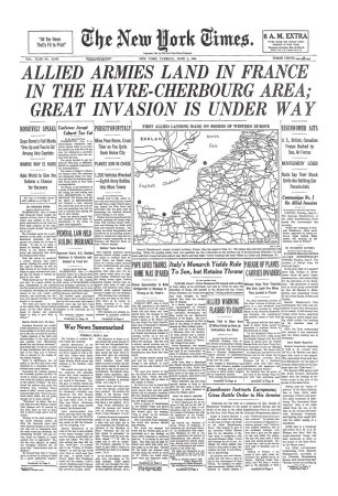 NYT D-Day Extra