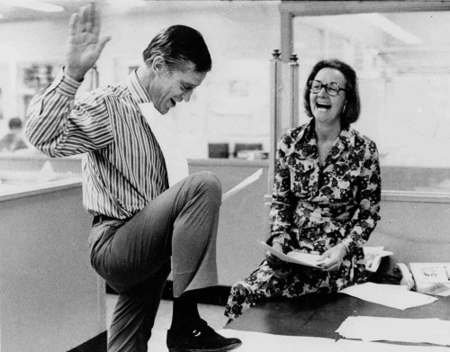 Ben Bradlee and Kay Graham react to the 1971 SCOTUS ruling in the Pentagon Papers case.