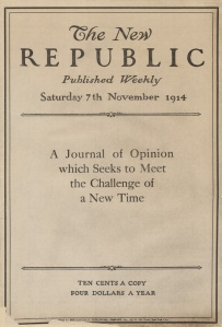 First issue: Nov. 7, 1914